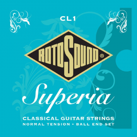 Rotosound CL1 Superia Normal Tension Nylon Ball End Classical Guitar Strings